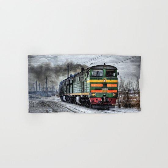Locomotive (Train in Russia)  Hand & Bath Towel
