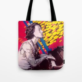 The Piano Man Tote Bag