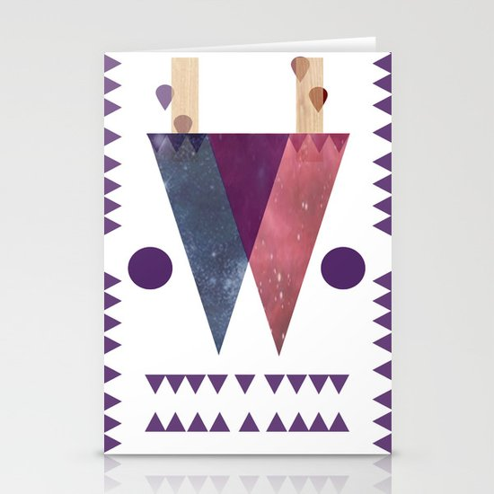 DoubleDualityPop Stationery Cards