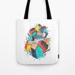 Tumble Town  Tote Bag