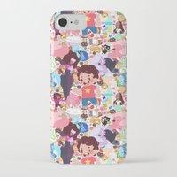 steven universe iPhone & iPod Cases featuring Steven Universe by Velvetcat09