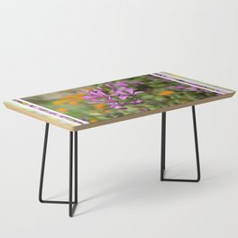 PASTEL PURPLE FLOWER  Coffee Table