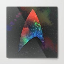 Trek Universe Metal Print
