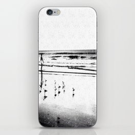 The Surfer iPhone Skin
