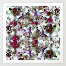 Under the light Art Print