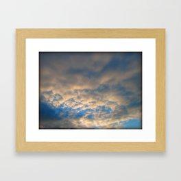 Sky Watch Framed Art Print