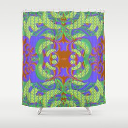 Taunt your vision Shower Curtain