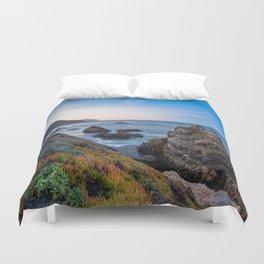 Coastline - The Beauty of Big Sur at Sunrise Duvet Cover