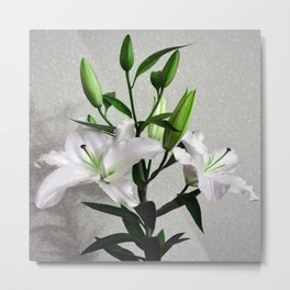 Bouquet of lilies Metal Print