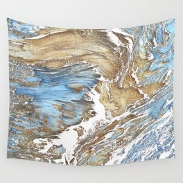 Woody Silver Wall Tapestry