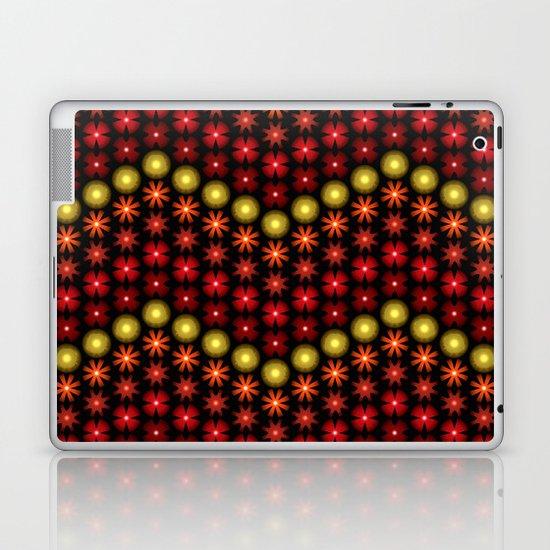 Beaded Chevrons II Laptop & iPad Skin
