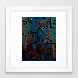 Oceanography Framed Art Print