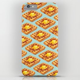 Waffle Pattern iPhone Case