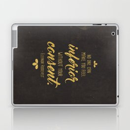 Inferior Without Your Consent Laptop & iPad Skin