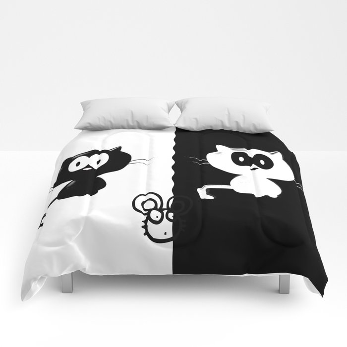 Catch the mouse Comforters
