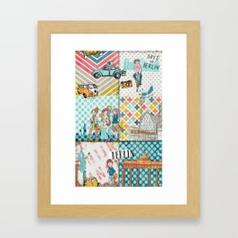 Berlin Berlin Framed Art Print