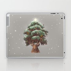 Reindeer Tree Laptop & iPad Skin