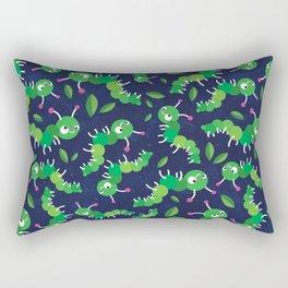 Bugs in Space Rectangular Pillow