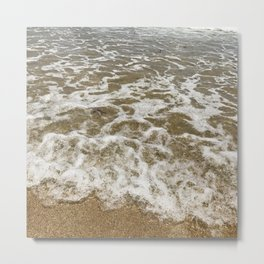 Rolling with the Tide Metal Print