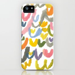 Abstract Letterforms 1 iPhone Case