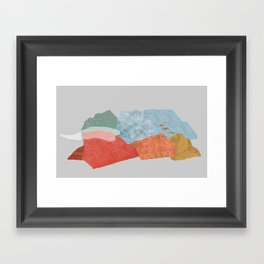 Birds Fly Away Framed Art Print