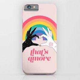 That's Amore iPhone Case