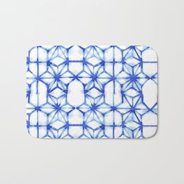 Abstract geometric star Bath Mat