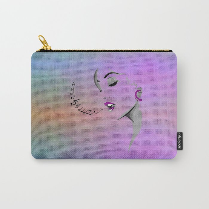 Singing a Song Design Carry-All Pouch