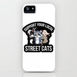 Cats Street iPhone Case