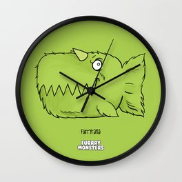 Furryrana Wall Clock