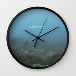A Distant Memory Wall Clock