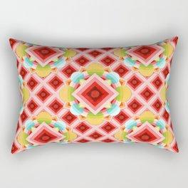 Circus Geometric Rectangular Pillow