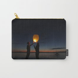 Sky Lantern during Twilight Hour Carry-All Pouch