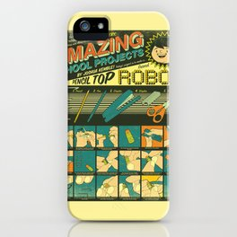 Amazing School Projects iPhone Case