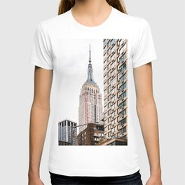 Empire State Building in New York T-shirt