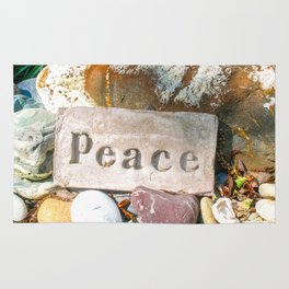 Peace by Mandy Ramsey Rug