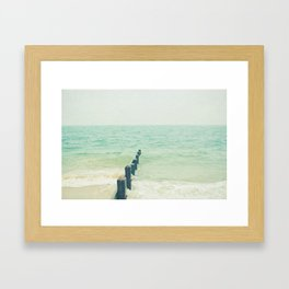 Looking Out to Sea Framed Art Print
