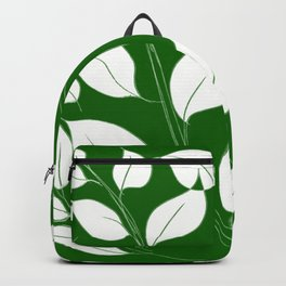 Leaves Pattern Easy Drawing Doodle Art Backpack