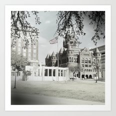 SPRING IN DEALEY PLAZA Art Print