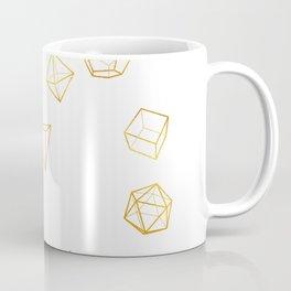 Platonic - Gold Coffee Mug
