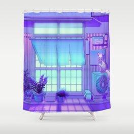 Inari Night Shower Curtain
