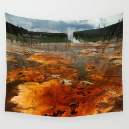 Awesome Geyser Colors Wall Tapestry