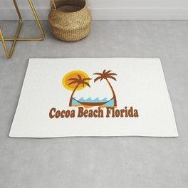 Cocoa Beach - Florida. Rug