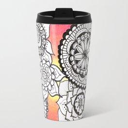 Sunset Mandalas Travel Mug