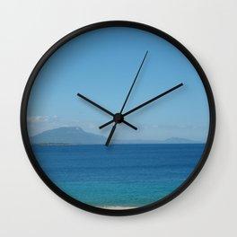 Playa Alicia, Republica Dominicana Wall Clock