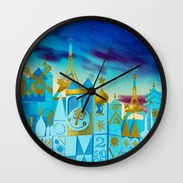 It's a Small World Wall Clock