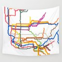 NYC Subway System (Complete) by abstractgraphdesigns