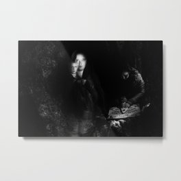 Ghost Cavern Metal Print