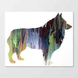 Schipperke Canvas Print