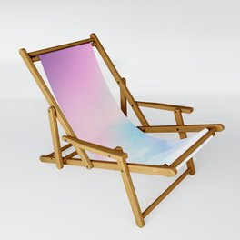 Pretty Rainbow Sling Chair